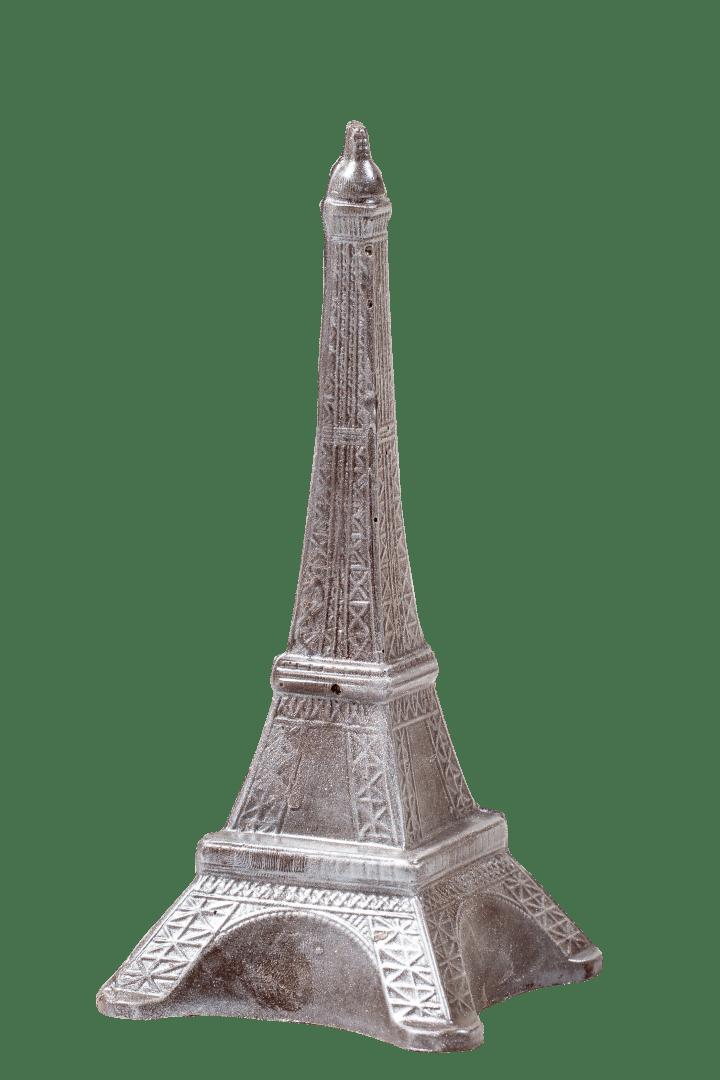 Фигурка из кондитерской глазури Эйфелева башня 1