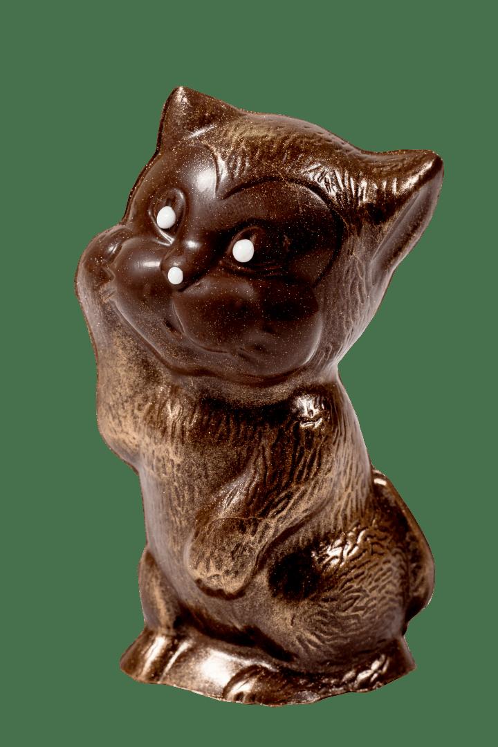 Фигурка из кондитерской глазури Котенок 1