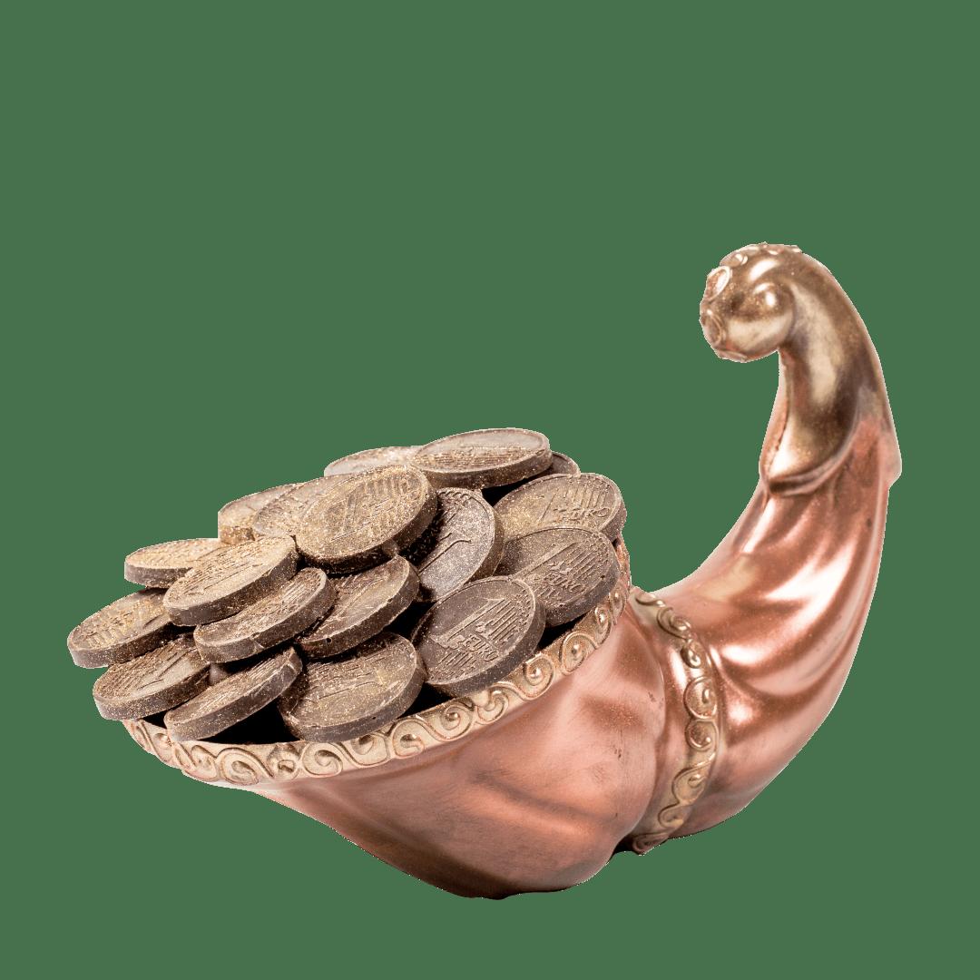 Фигурка из кондитерской глазури Рог изобилия 1