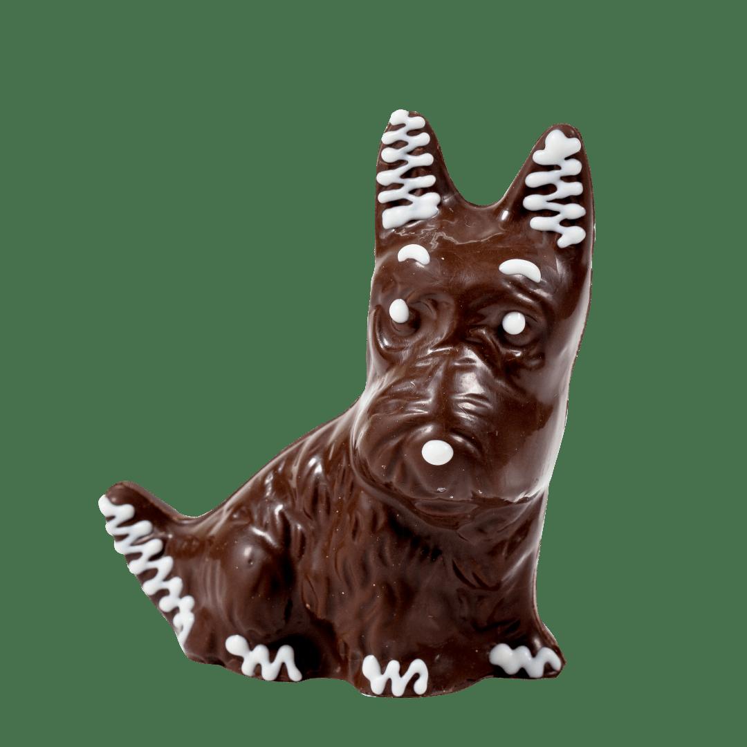 Фигурка из кондитерской глазури Собака 1