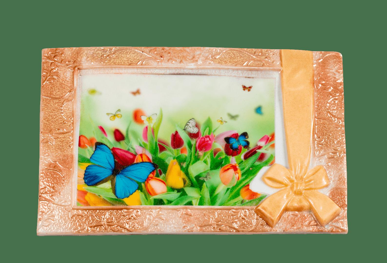 Изделие из кондитерской глазури Поздравительная открытка 1