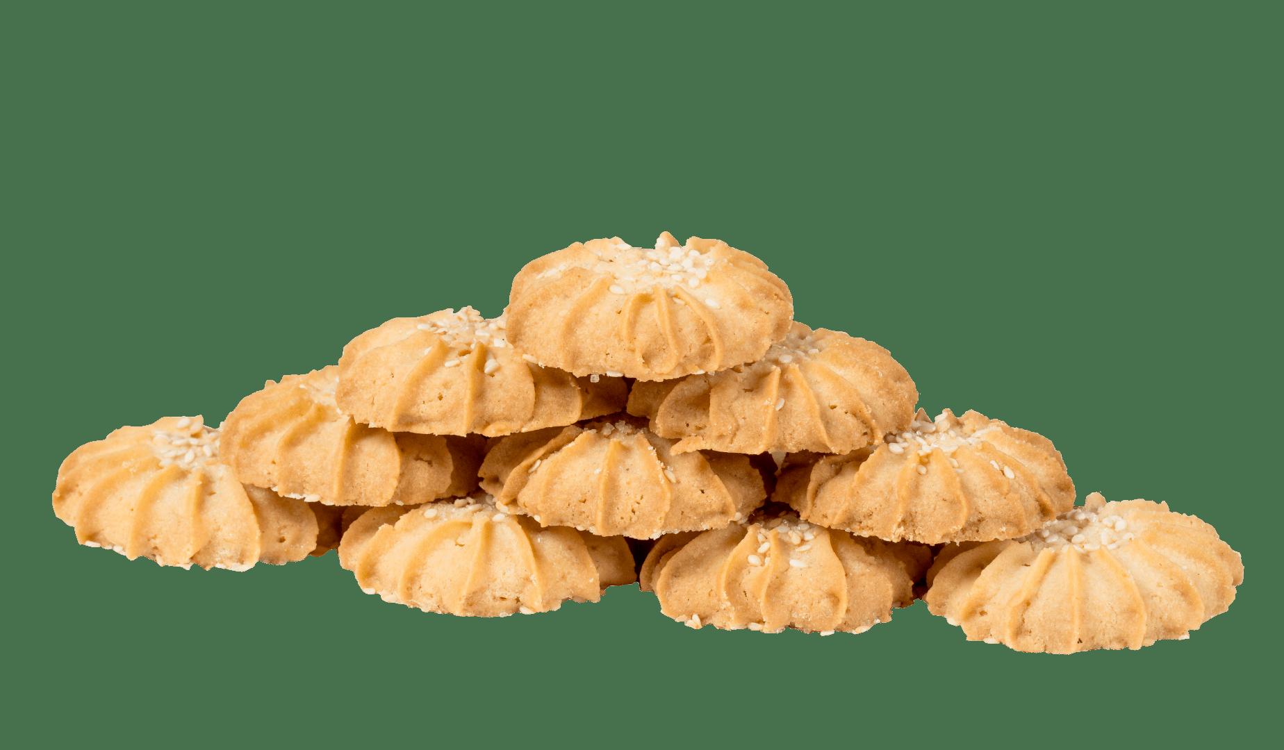 """Печенье """"Песочное с кунжутом"""" 1"""