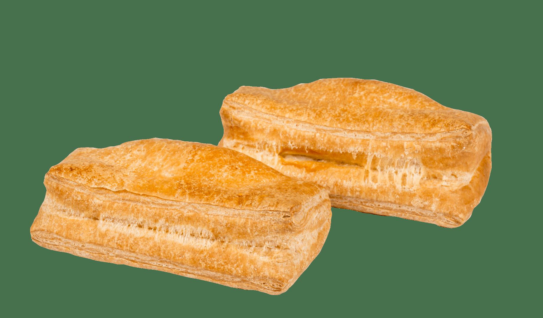 Пирожки слоеные с капустой 1