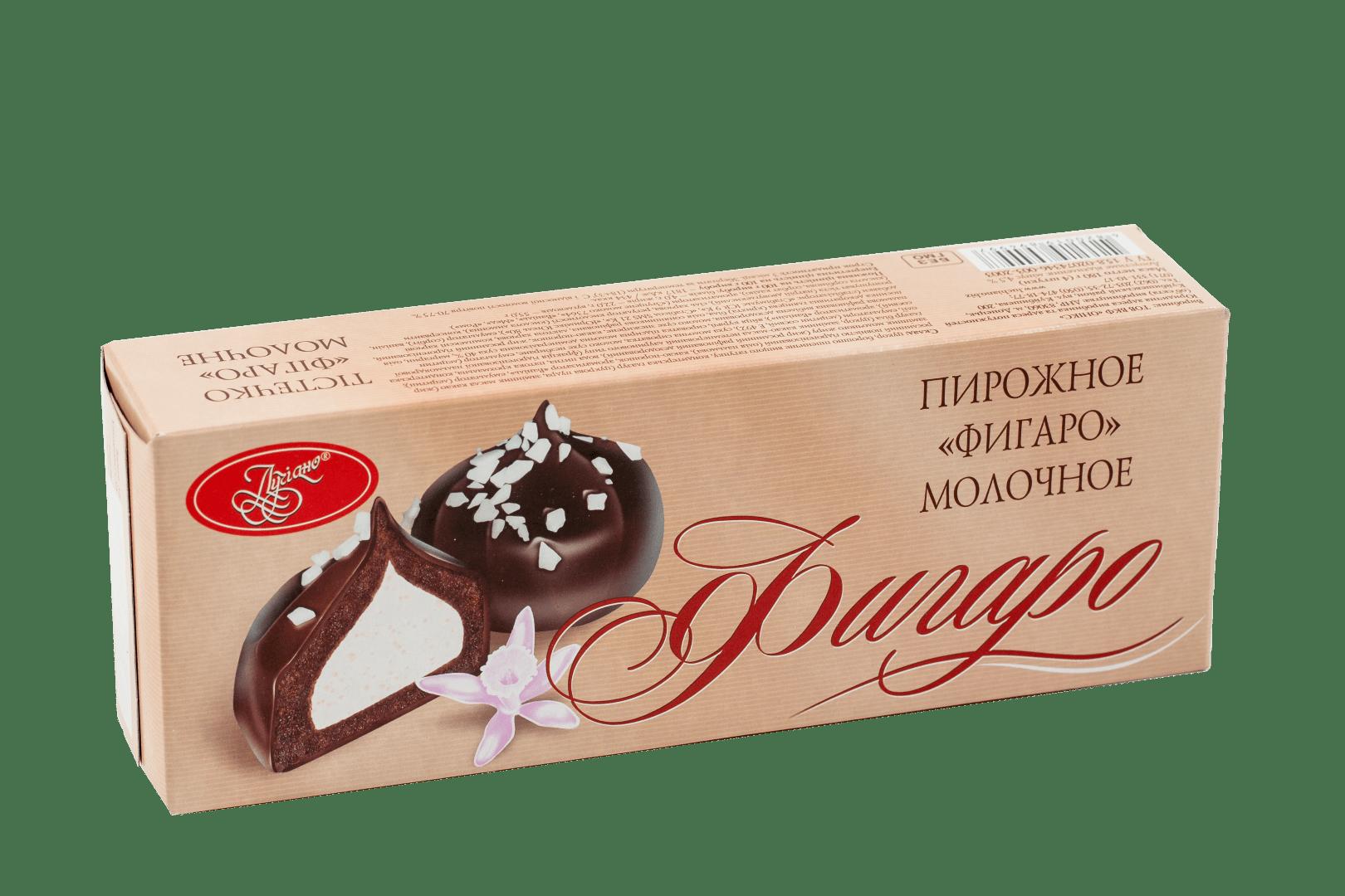 Пирожное Фигаро молочное 1