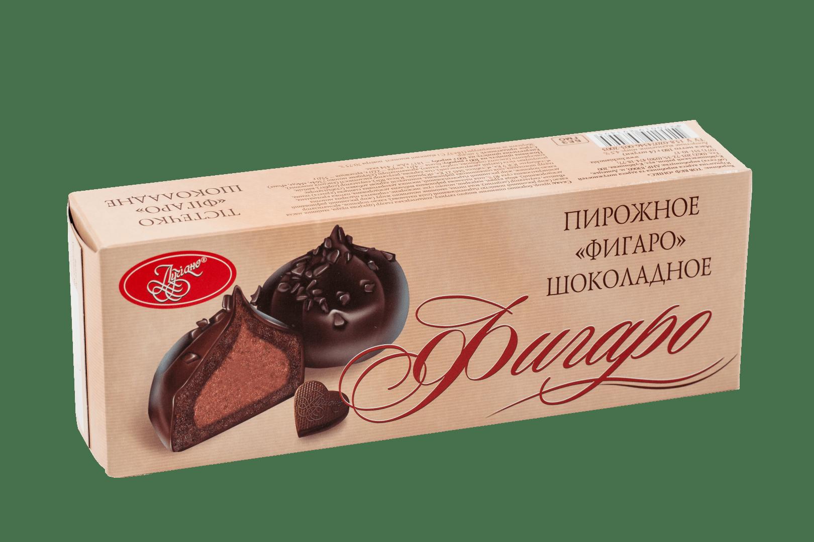 Пирожное Фигаро шоколадное 1