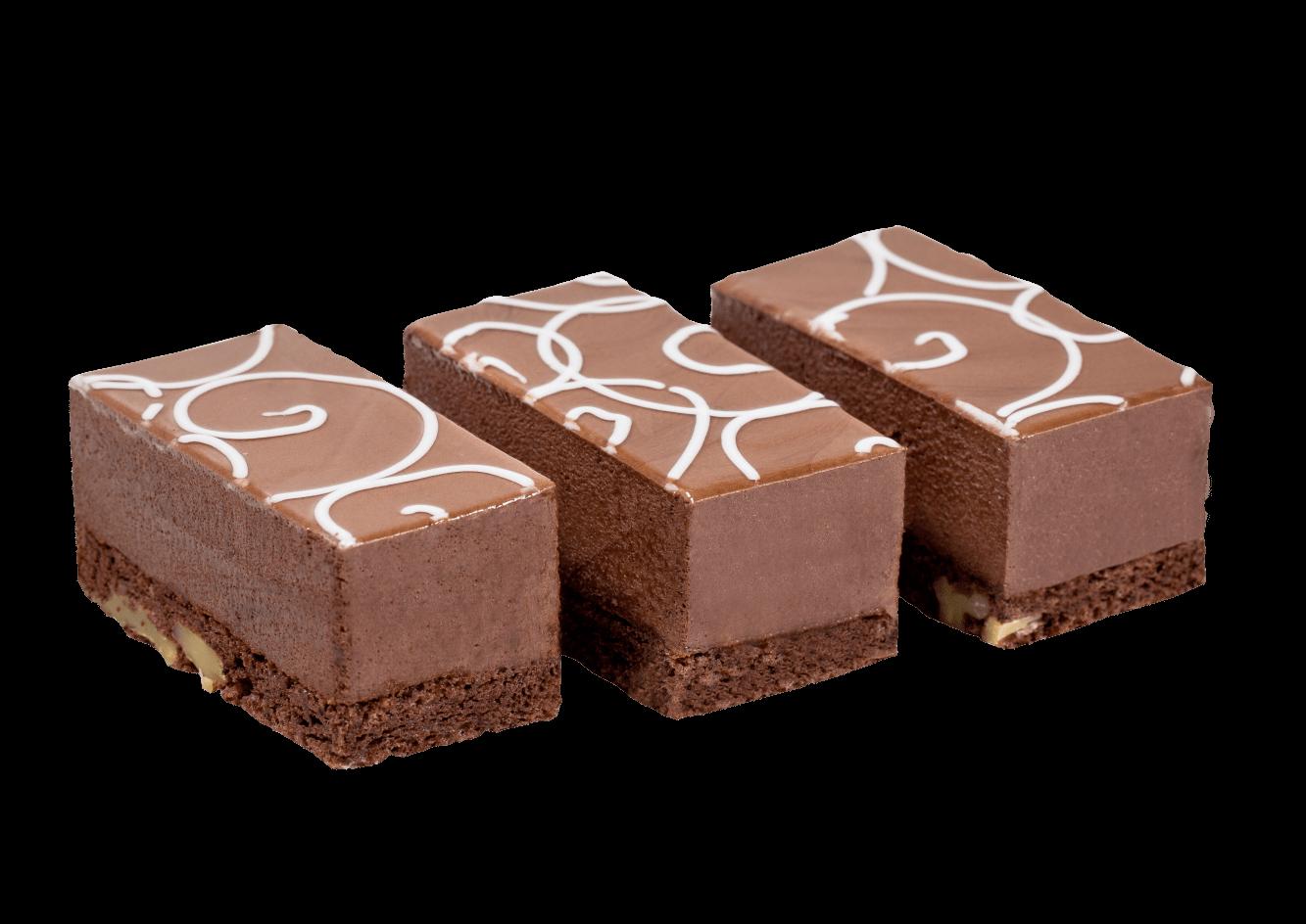 Пирожное Роман-Кош шоколадное 1