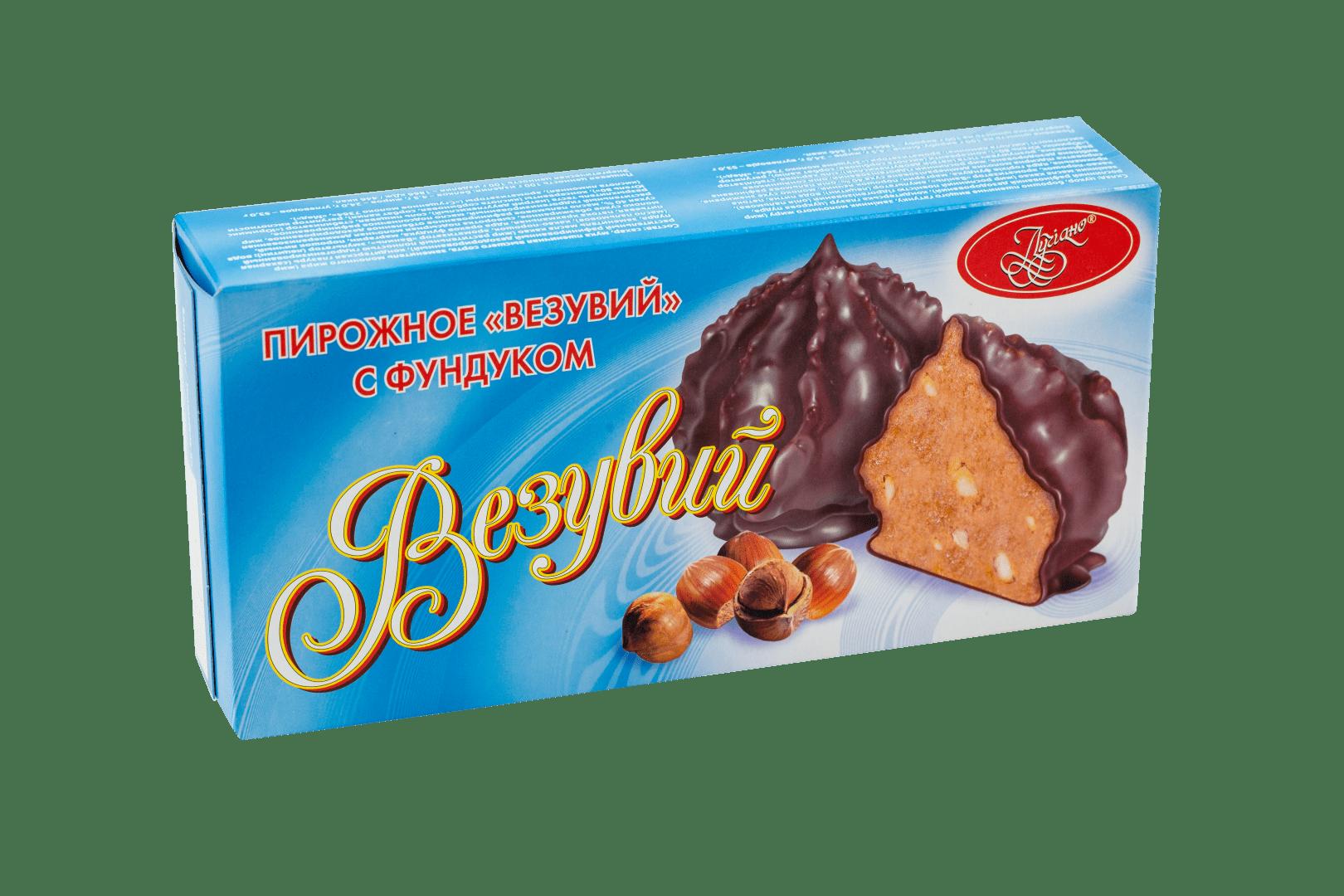 Пирожное Везувий с фундуком 1