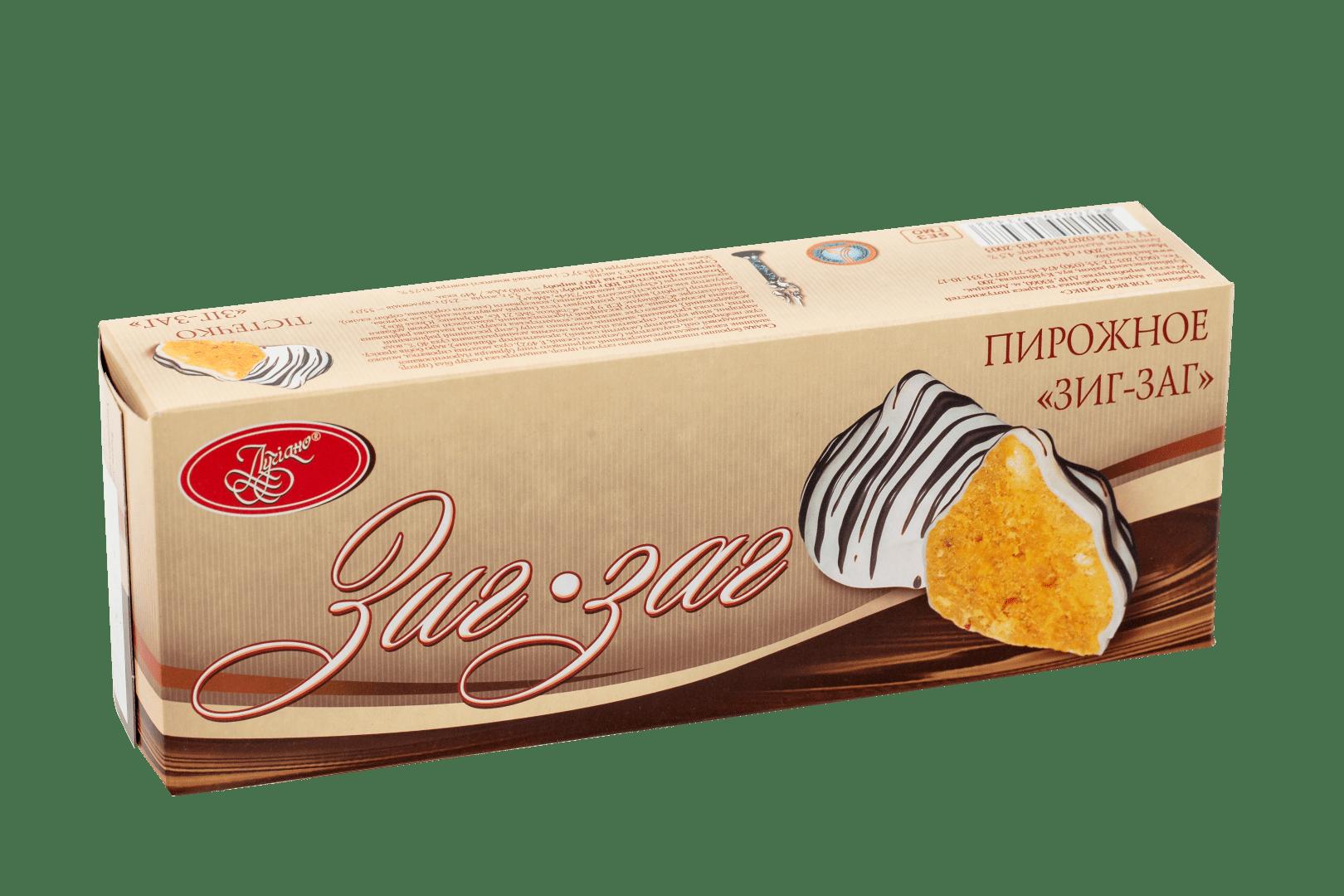 Пирожное Зиг-Заг 1