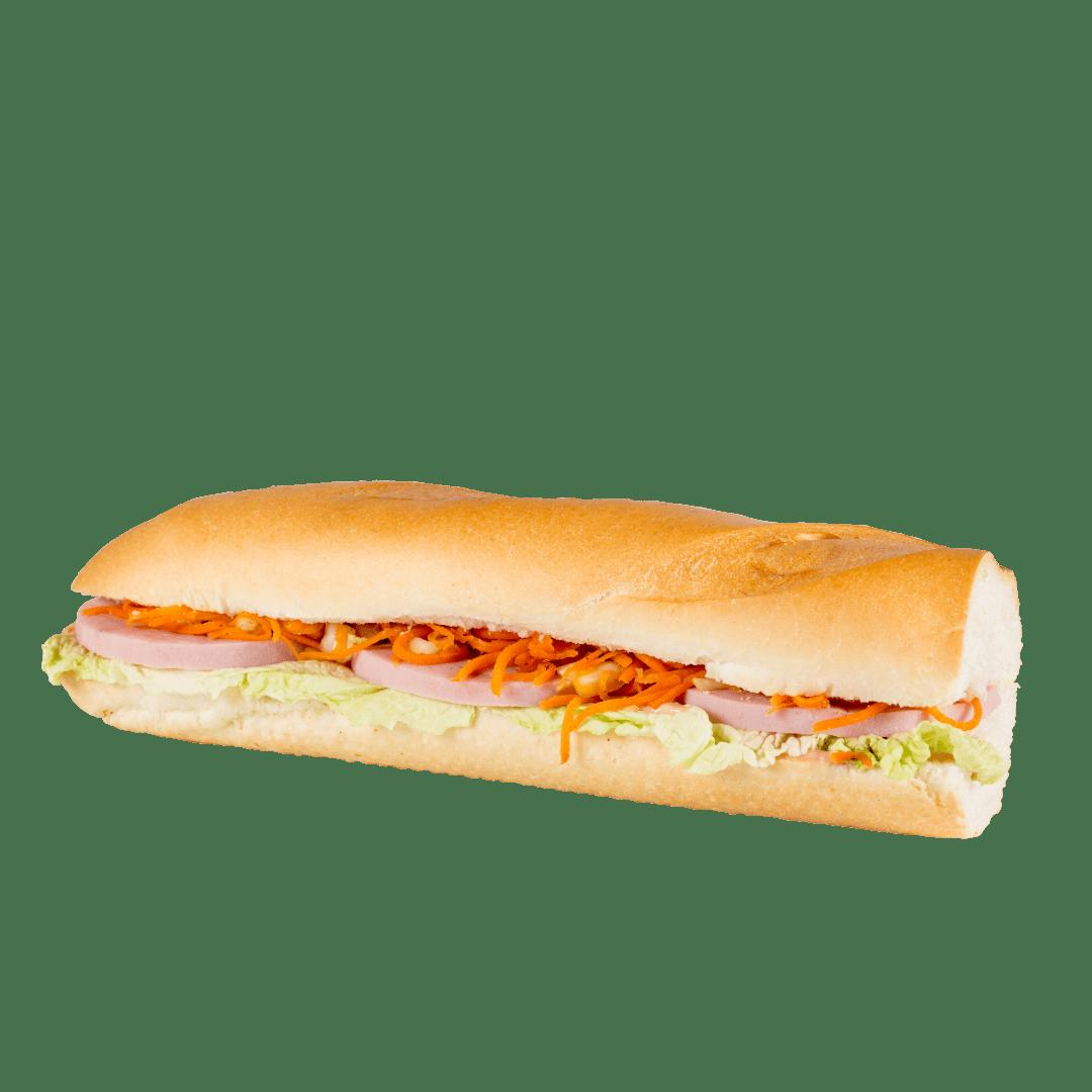Сандвич-багет с ветчиной 1
