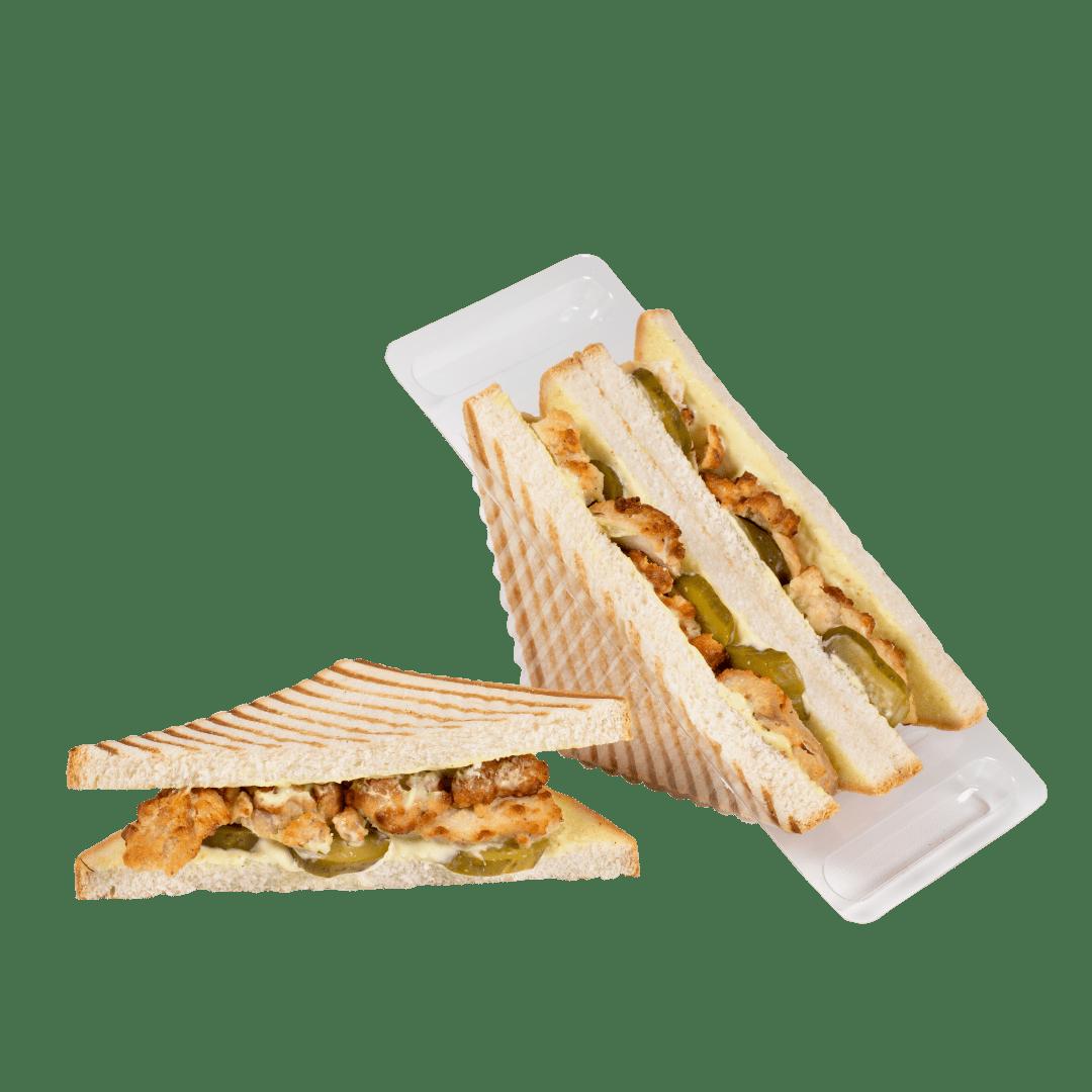 Сандвич-гриль с мясом курицы 1