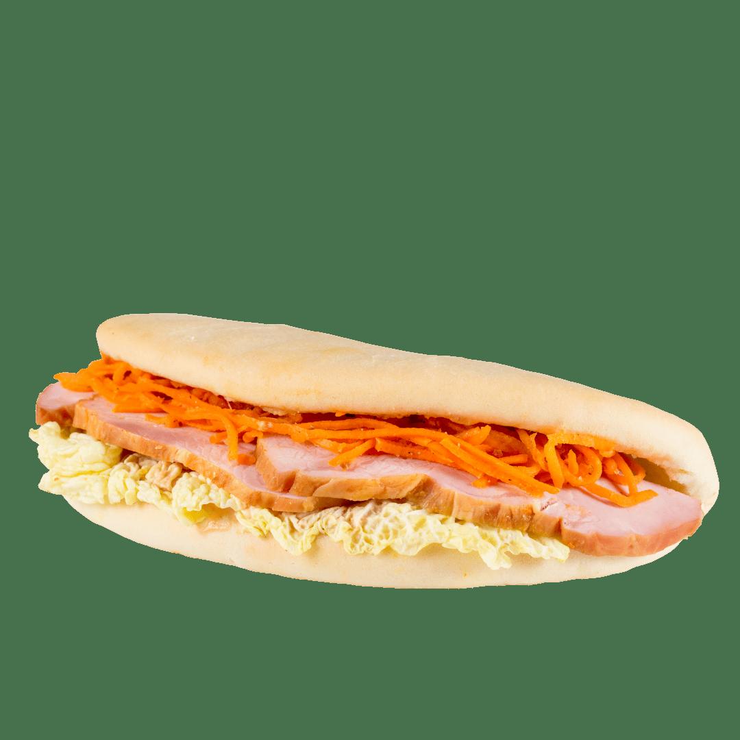 """Сандвич """"Пикантный"""" к завтраку 1"""