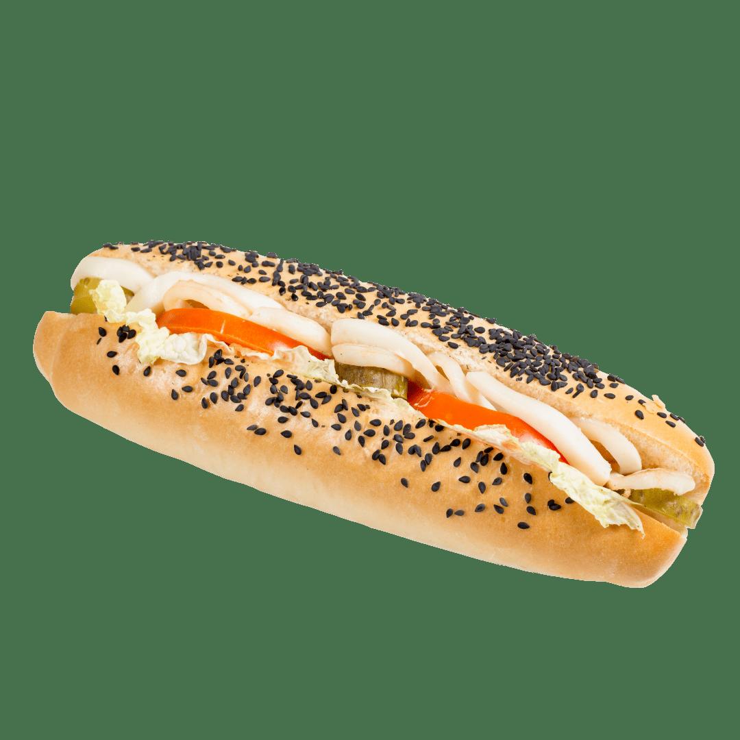 Сандвич с кальмаром 1
