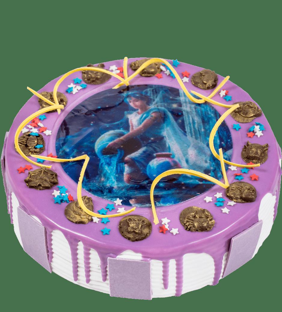 Торт Знак Зодиака (Модерн) 1