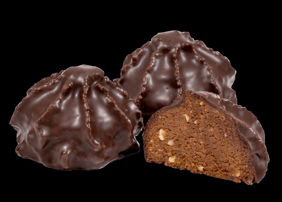Весовой набор пирожных Везувий с шоколадом 1