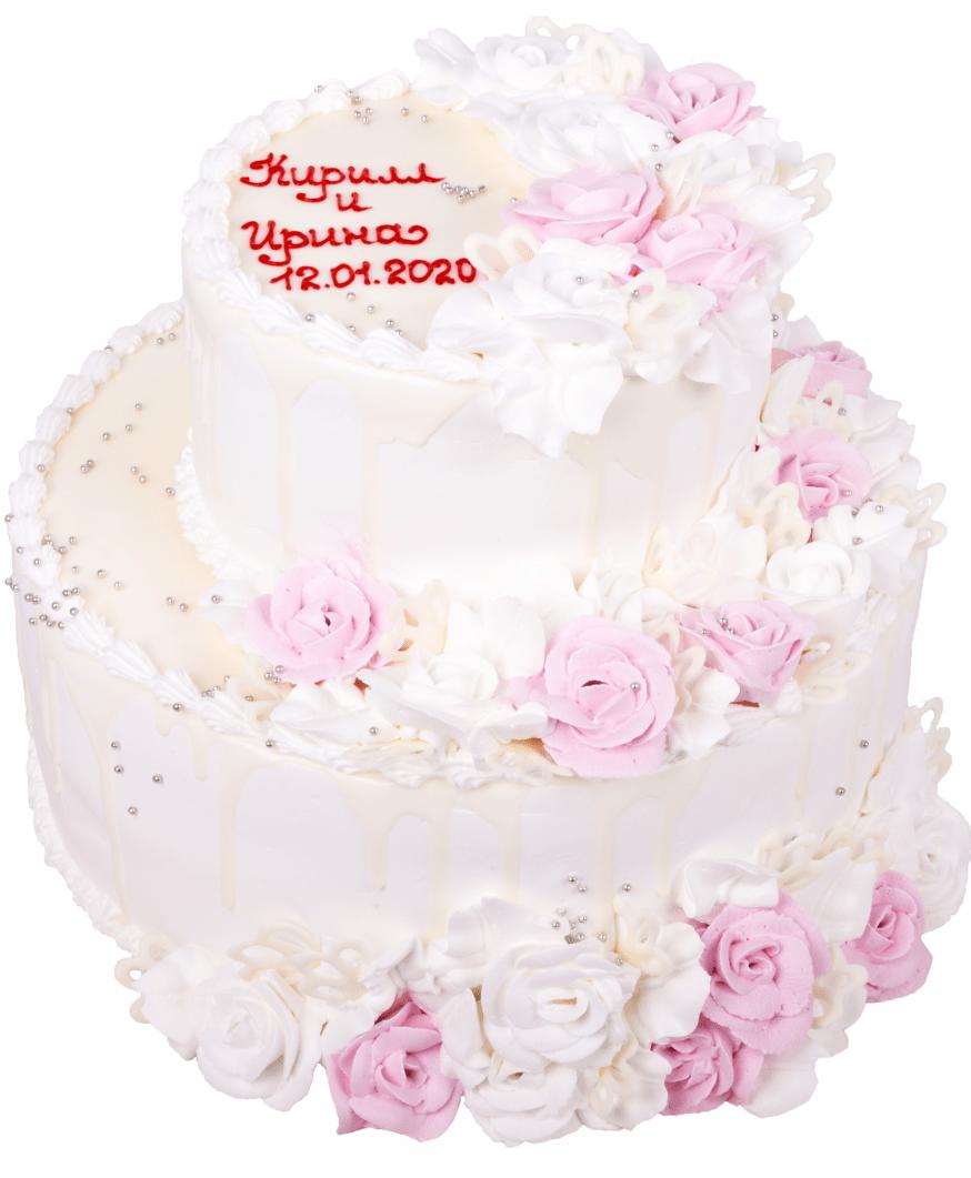 Торт свадебный-51 1