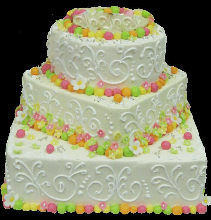 Торт свадебный-54 1