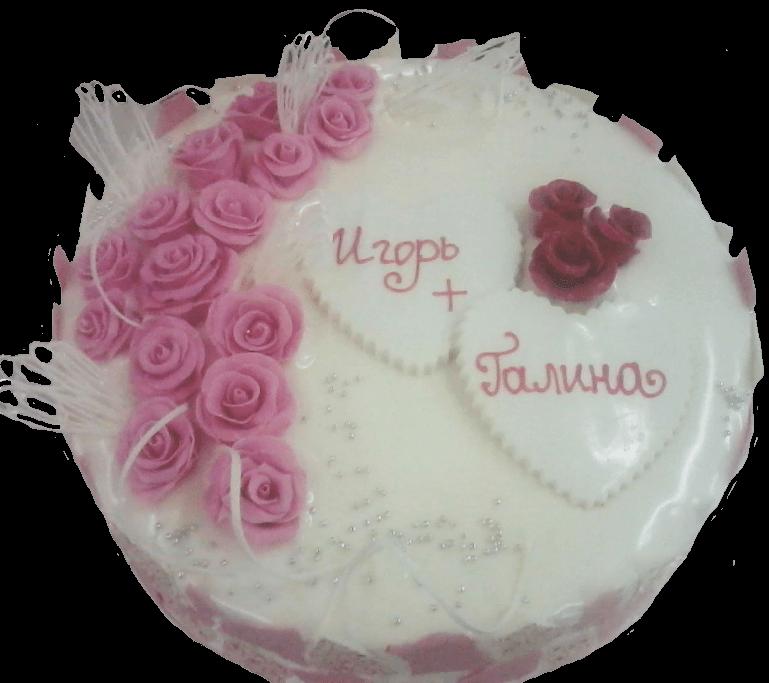 Торт свадебный-64 1