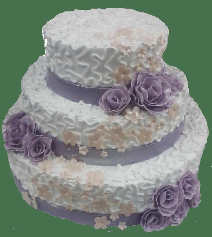 Торт свадебный-46 1