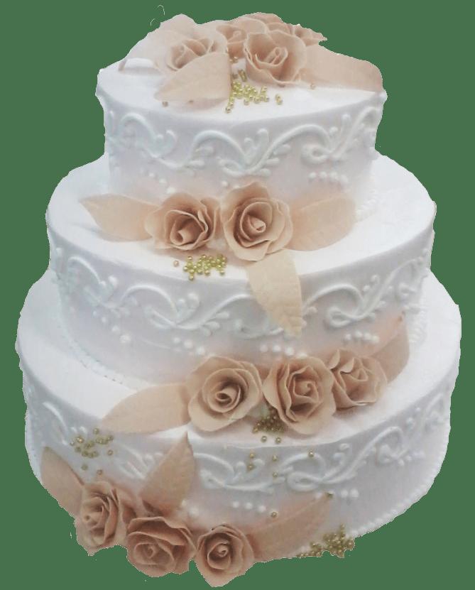 Торт свадебный-27 1