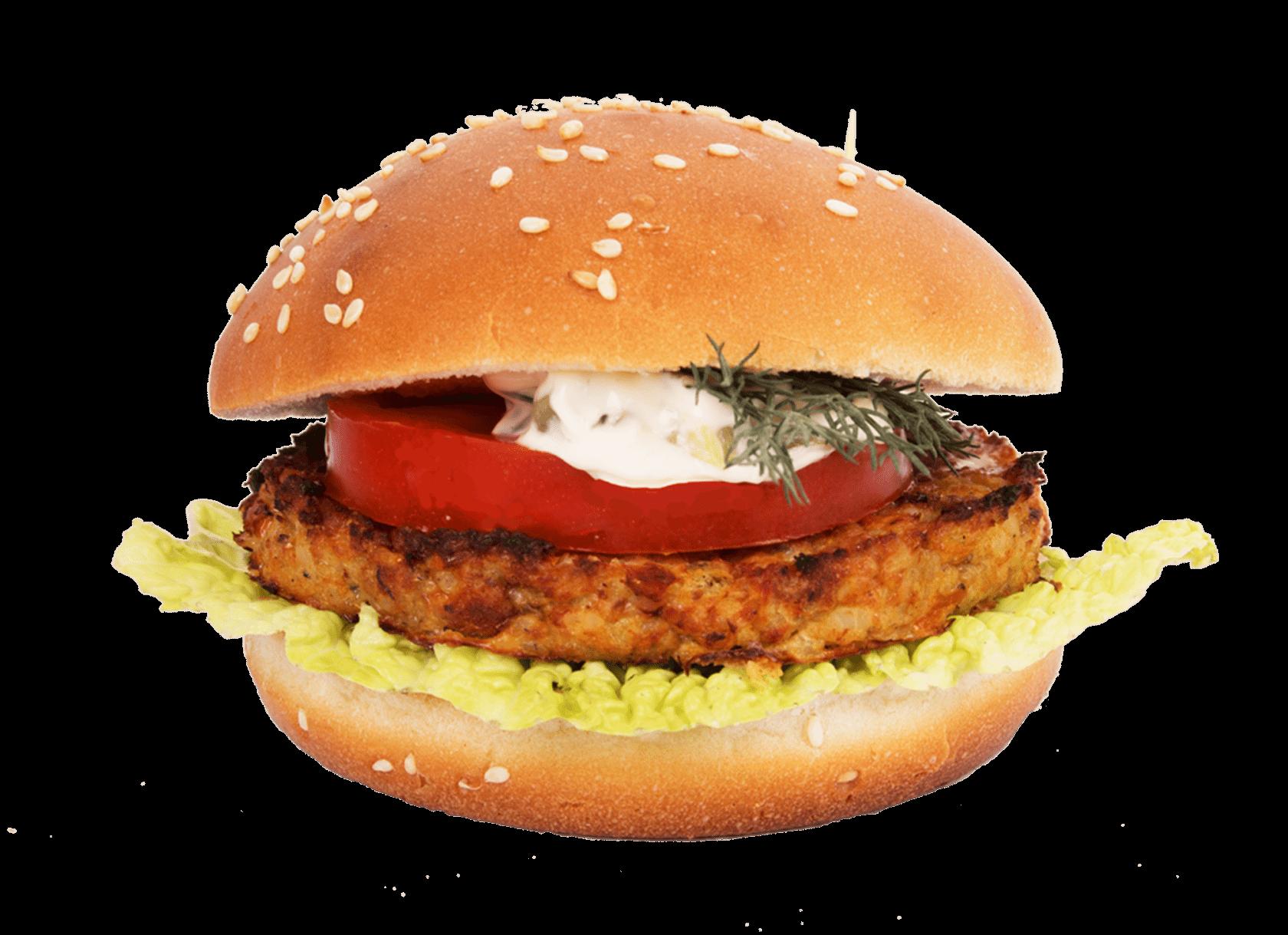 Бургер-фиш с соусом «Тартар» 1