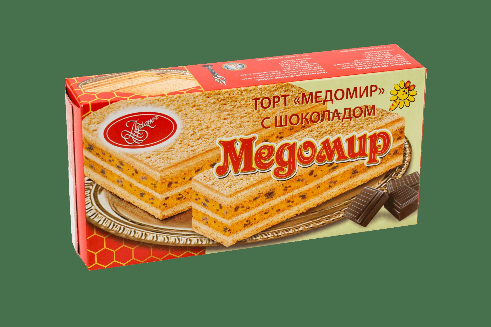 Торт Медомир с шоколадом 1