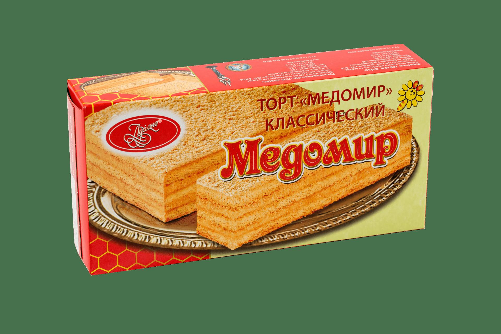 Торт Медомир классический 1