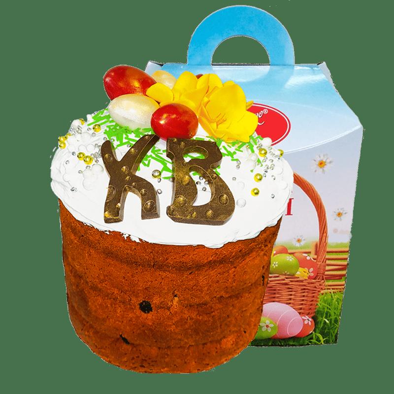 """Кекс """"Пасхальный"""" (Элитный) с крокусами 1"""