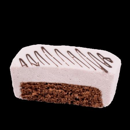 Десерт Лучиано клубничный кусочек