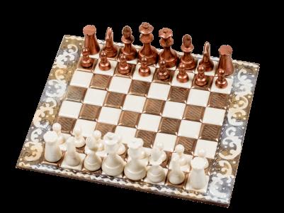 Фигурка из кондитерской глазури Шахматы