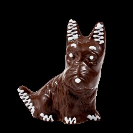 Фигурка из кондитерской глазури Собака