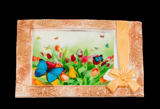 Изделие из кондитерской глазури Поздравительная открытка (3)