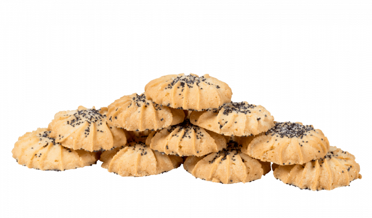Печенье песочное с маком
