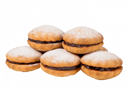 Печенье сдобное Ягодка