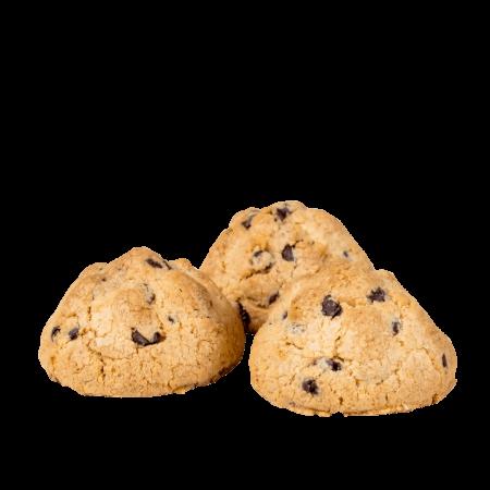 Печенье сдобное Каштаны с кондитерской глазурью