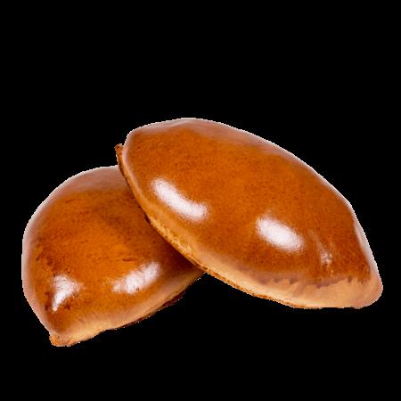 Пирожки печеные с яблочным повидлом