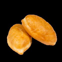 Пирожки жареные с горохом