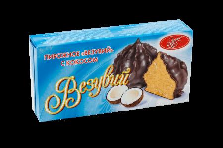 Пирожное Везувий с кокосом (2)