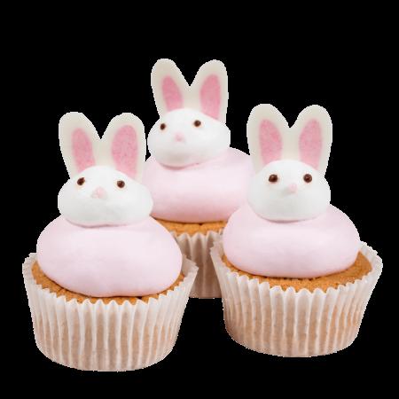 Пирожное Зайка розовая (2)