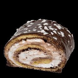 Рулет Молочно-ореховый кусочек