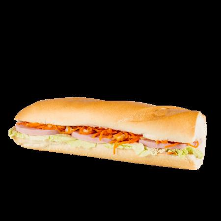 Сандвич-багет с ветчиной