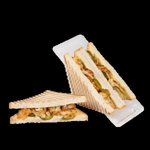 Сандвич-гриль с мясом курицы