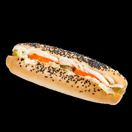 Сандвич с кальмаром
