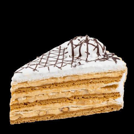Торт Арлекин кусочек