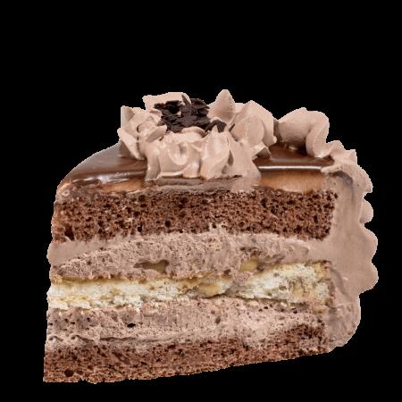 Торт Браун принц кусочек