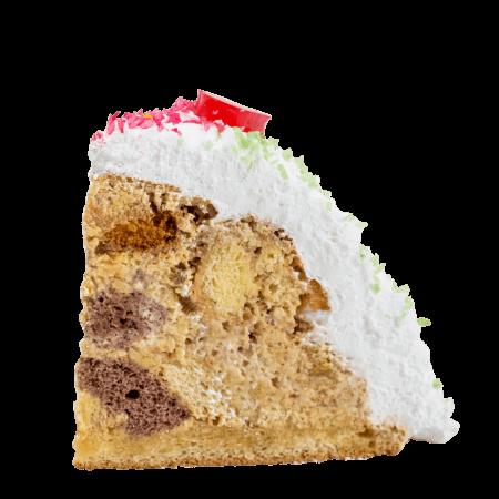 Торт Глобус кусочек