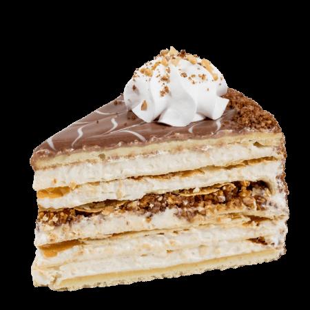 Торт Кармелита кусочек
