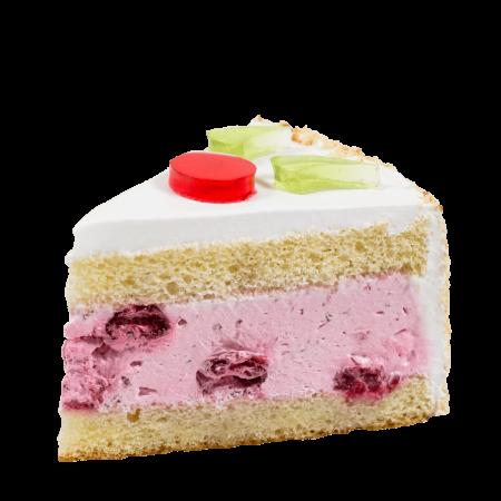 Торт Клоун кусочек