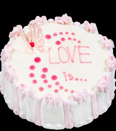 Торт С любовью