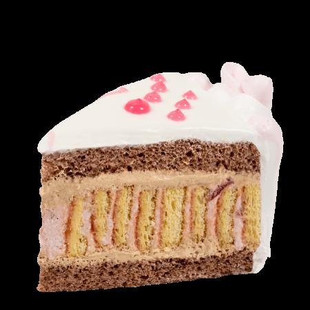 Торт С любовью кусочек