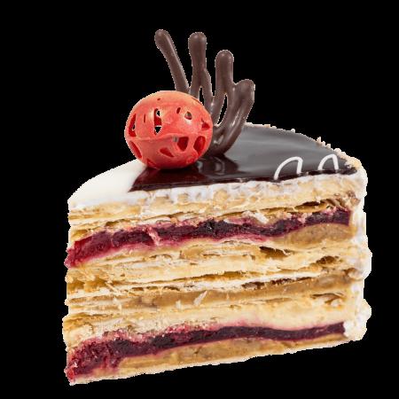 Торт Сакура кусочек